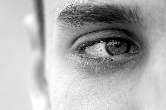 mužské oko