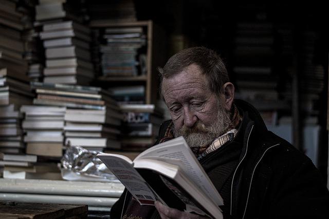 čtení starce