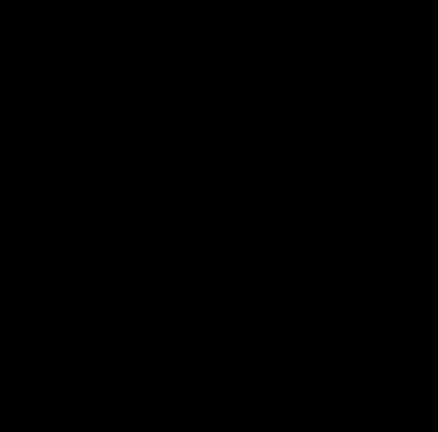 černobílý náčrt věnce s květinami